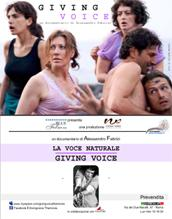 "locandina di ""Giving Voice - La Voce Naturale"""