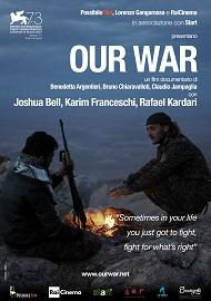 "locandina di ""Our War"""