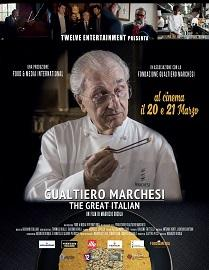 "locandina di ""Gualtiero Marchesi: The Great Italian"""